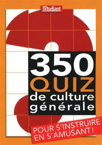350 quiz de culture générale