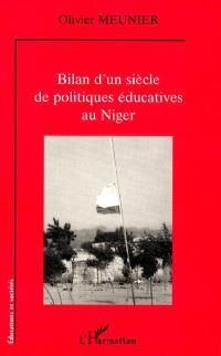 Bilan d'un siècle de politiques éducatives au Niger