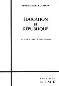 Education et République