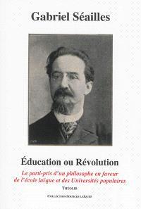 Education ou révolution