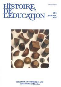 Histoire de l'éducation. n° 131