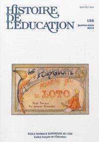 Histoire de l'éducation. n° 133