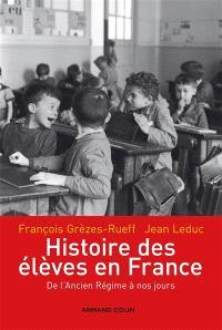 Histoire des élèves en France : de l'Ancien Régime à nos jours