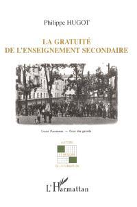 La gratuité de l'enseignement secondaire : l'application des premières mesures démocratiques dans l'enseignement secondaire, 1918-1939
