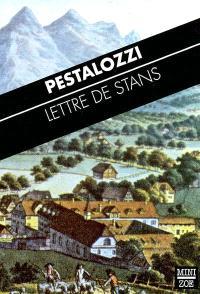 Lettre de Stans