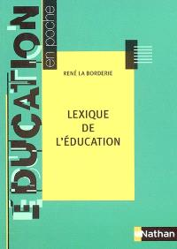 Lexique de l'éducation