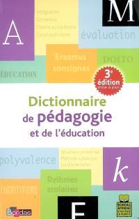 Dictionnaire de pédagogie et de l'éducation