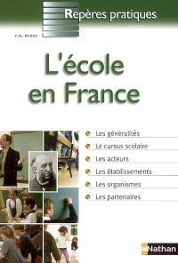 L'école en France