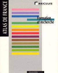 Atlas de France. Volume 04, Formation et recherche