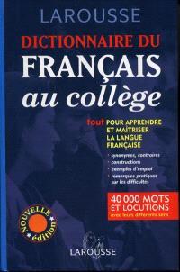 Dictionnaire du français au collège