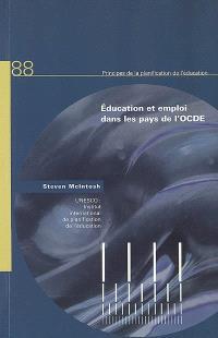 Education et emploi dans les pays de l'OCDE