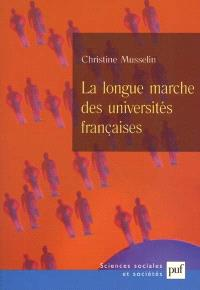 La longue marche des universités françaises