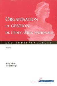Organisation et gestion de l'Education nationale