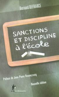 Sanctions et discipline à l'école