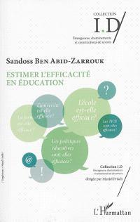 Estimer l'efficacité en éducation