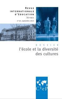 Revue internationale d'éducation. n° 63, Ecole et identités communautaires