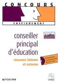 Conseiller principal d'éducation : concours interne et externe