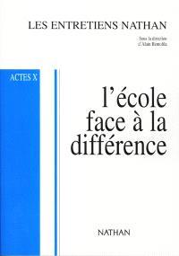 L'école face à la différence