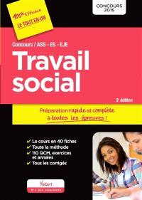 Travail social : concours ASS, ES, EJE : concours 2015