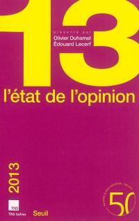 L'état de l'opinion : 2013