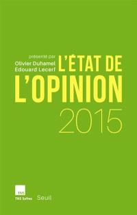 L'état de l'opinion : 2015