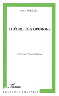 Théorie des opinions