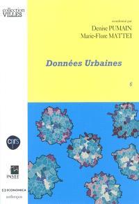 Données urbaines. Volume 6