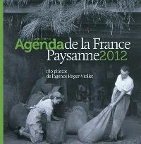 L'agenda de la France paysanne 2012