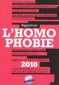 Rapport sur l'homophobie 2010