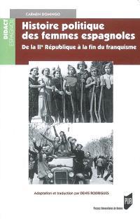 Histoire politique des femmes espagnoles : de la IIe République à la fin du franquisme