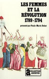 Les femmes et la Révolution 1789-1794