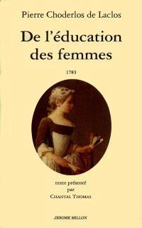De l'éducation des femmes : 1783
