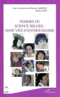 Femmes de science belges : onze vies d'enthousiasme