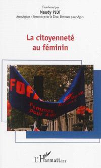 La citoyenneté au féminin : forum du 11 avril 2012, 10e anniversaire de FDFA