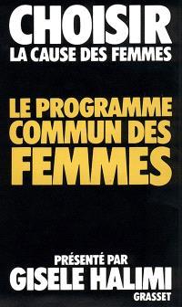 Le Programme commun des femmes