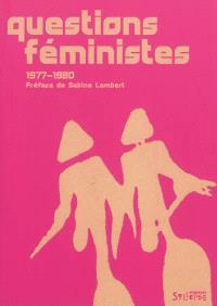 Questions féministes : 1977-1980