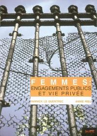 Femmes : engagements publics et vie privée