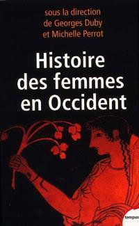 Coffret Histoire des femmes en Occident