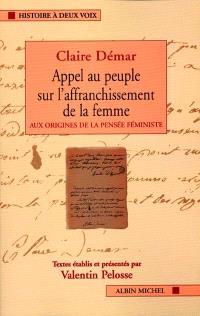 Textes fondateurs du féminisme français