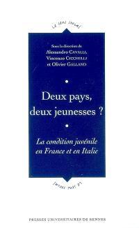 Deux pays, deux jeunesses : la condition juvénile en France et en Italie