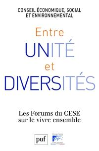 Entre unité et diversités : forum du CESE sur le vivre ensemble