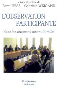 L'observation participante : dans les situations interculturelles