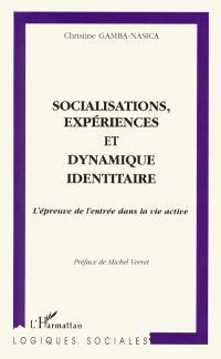 Socialisations, expériences et dynamique identitaire : l'épreuve de l'entrée dans la vie active