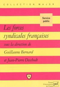 Les forces syndicales françaises