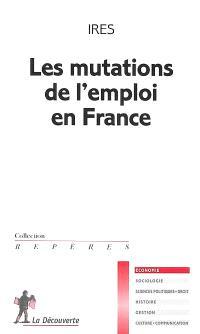 Les mutations de l'emploi en France