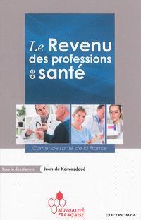 Le revenu des professions de santé : carnet de santé de la France