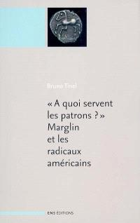 A quoi servent les patrons ? : Marglin et les radicaux américains. Suivi de A quoi servent les patrons ? : origines et fonctions de la hiérarchie dans la production capitaliste