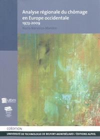 Analyse régionale du chômage en Europe occidentale : 1973-2009