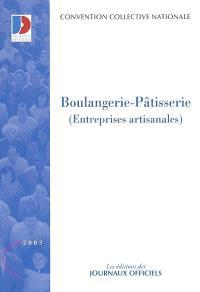 Boulangerie-pâtisserie (entreprises artisanales) : convention collectivie nationale du 19 mars 1976 (étendue par arrété du 21 juin 1978)