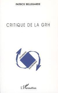 Critique de la GRH